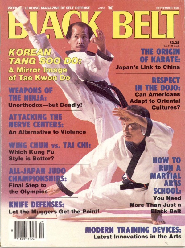 Moo Duk Kwan Founder Hwang Kee and his son H.C. Hwang
